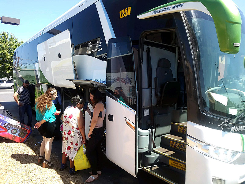 Contact and Sales, Bus Routes to Mexico, Tufesa Oakland